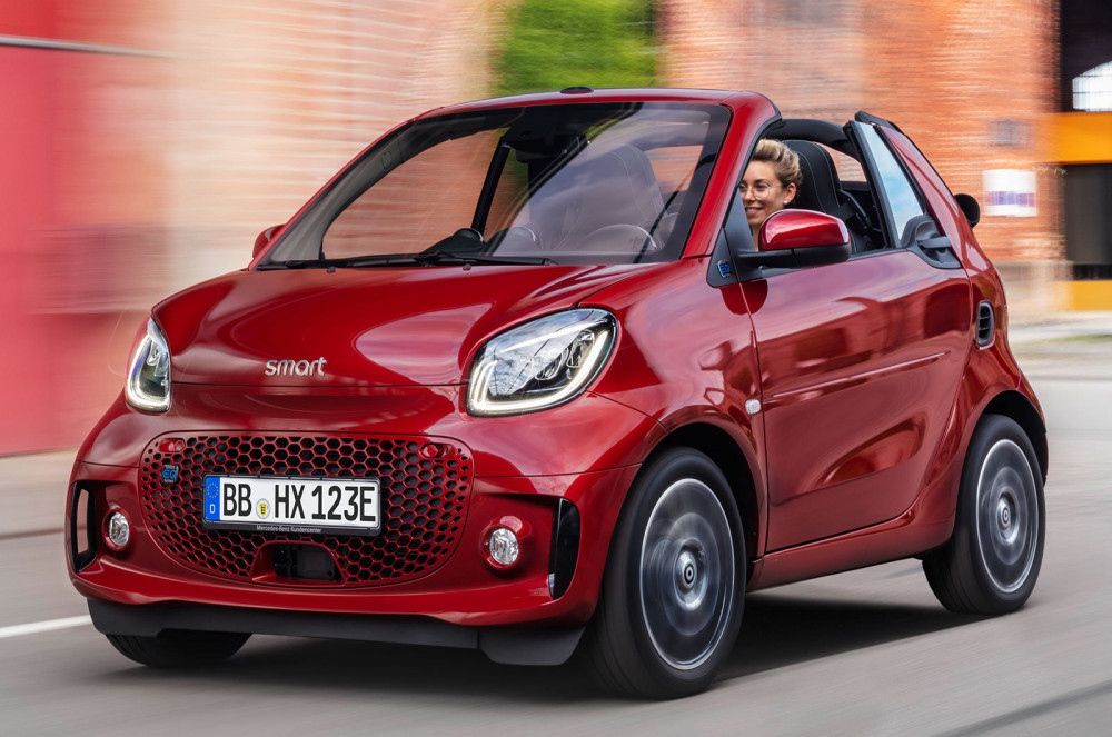 Smart Fortwo и Forfour EQ